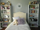 From Girl Fru-Fru to Girly Chic, Bedroom Makeover on a Tight Budget