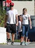 Ryan Phillippe got lunch with children Ava and Deacon.
