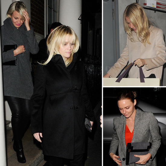 Gwyneth and Cameron Have a London Girls' Night With Stella and Reese!