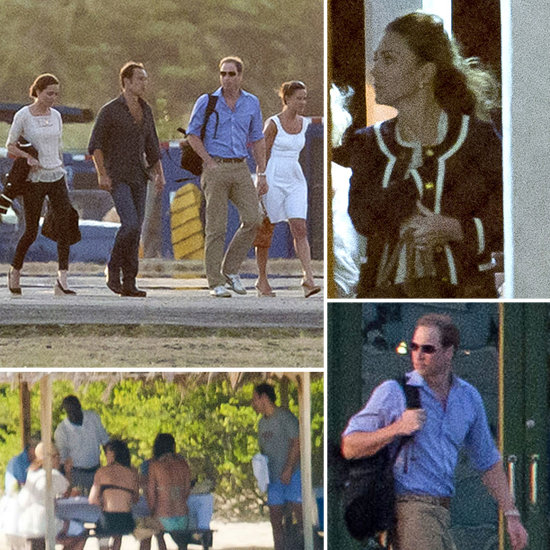 Exclusive — See William and Kate on Vacation in Mustique With the Middletons