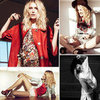 Dree Hemingway Models Her New Bohemian-Chic Sandro Line For Elle France