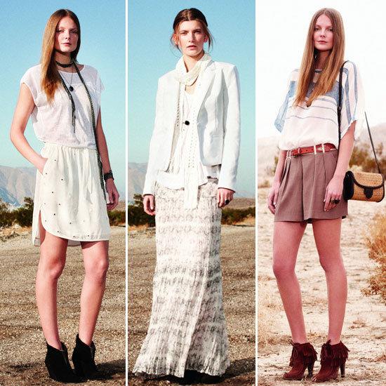 First Look — Club Monaco's Wild West Spring Collection