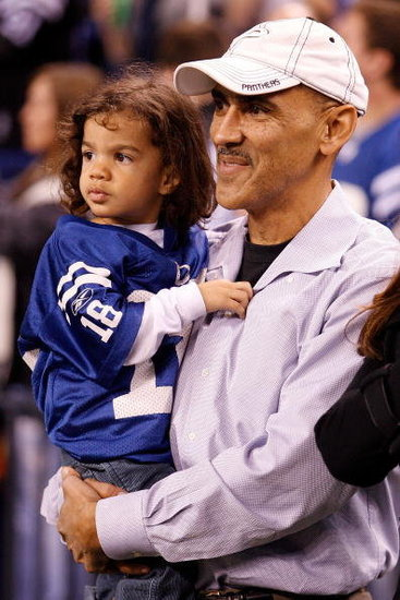 Tony Dungy and Jade