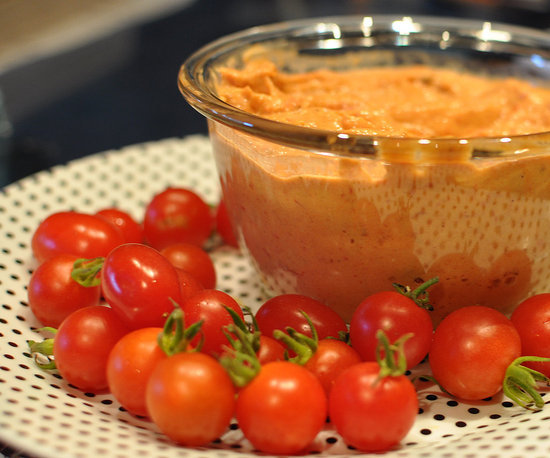 Roasted Tomato Hummus 