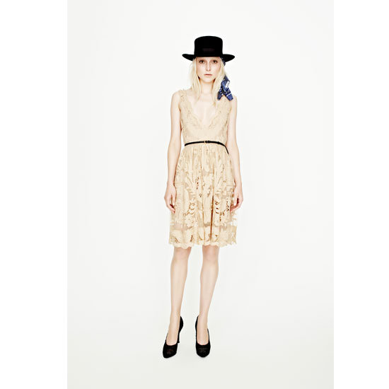 Cigar Girl Embroidered Dress, $449.