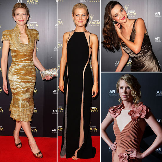 Frock Watch: Celebs Style Up for the AACTA Awards!