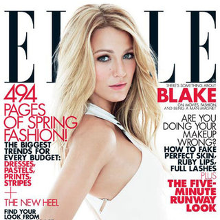 Blake Lively in March 2012 Elle Pictures