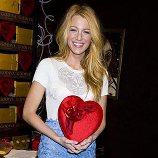 Blake Lively at Valentine's Day Godiva Event Pictures