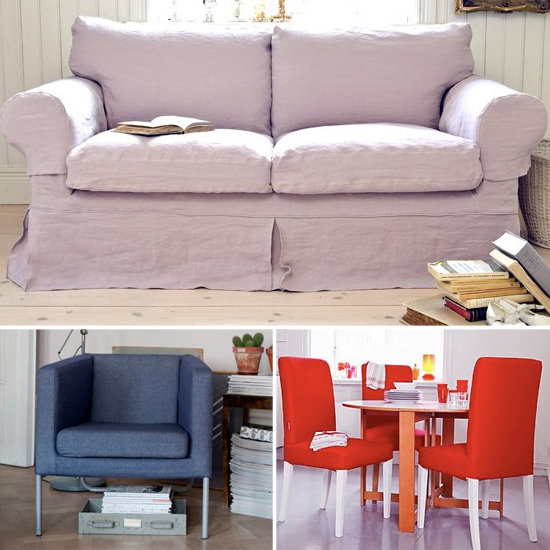 Add Pretty Slipcovers