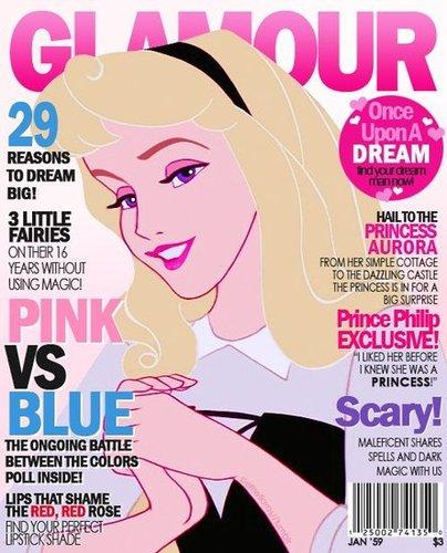 Magazine Cover Aurora