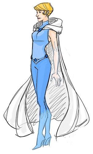 Superhero Cinderella