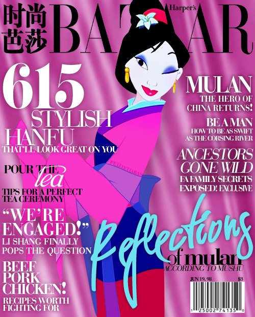 Magazine Cover Mulan