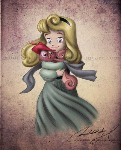 Child Princess Aurora