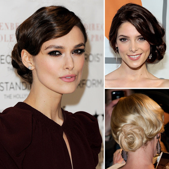 celebrities wearing downton abbey updos popsugar beauty