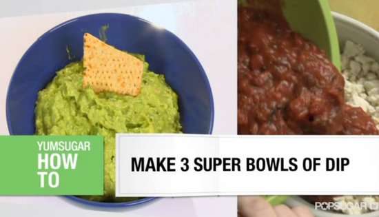 3 Amazing Super Bowl Dips!