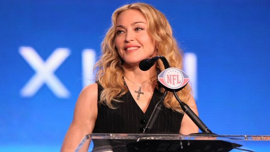 Video: Madonna Answers the Big Question — Tom Brady or Eli Manning?