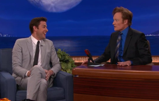 John Krasinski Impersonates Emily Blunt's Reaction to Meeting Obama