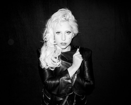Lady Gaga poses for a Terry Richardson photo shoot session!
