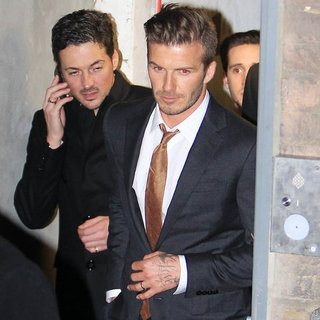 David Beckham Pictures at Arts Club With Prince Harry