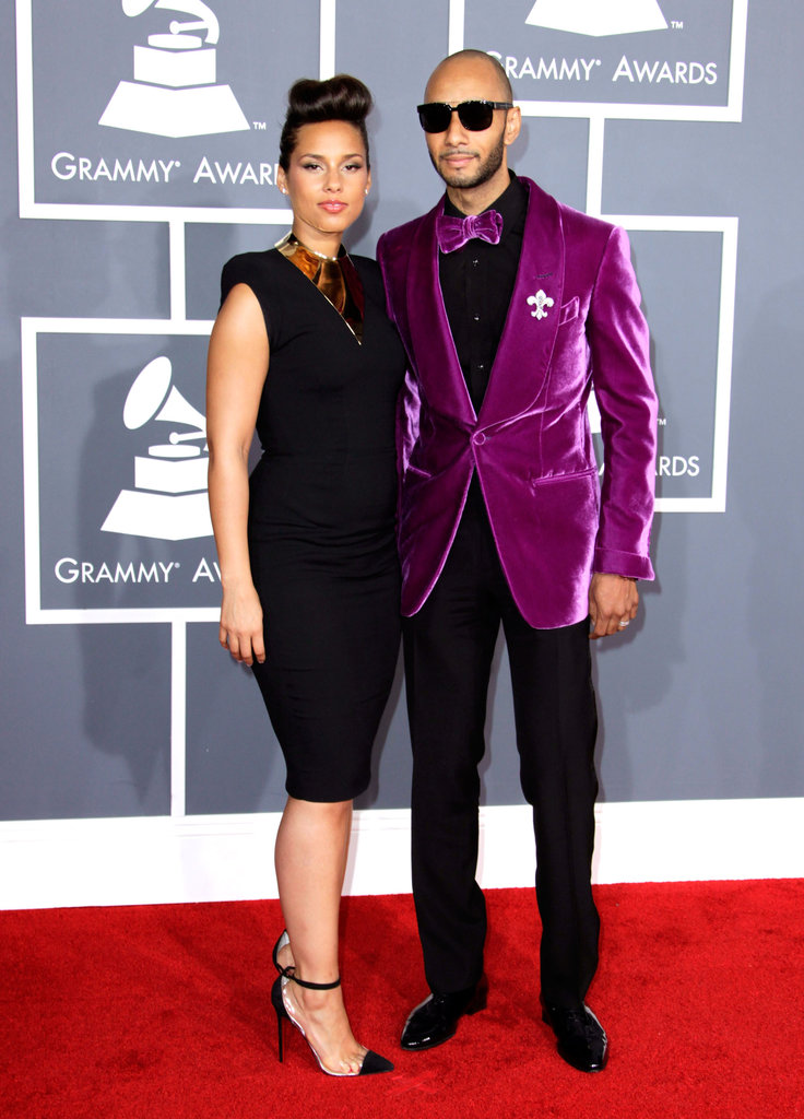 Alicia Keys Makes a Statement on the Grammys Red Carpet