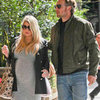 Jessica Simpson Pregnant Gray Dress Pictures in LA