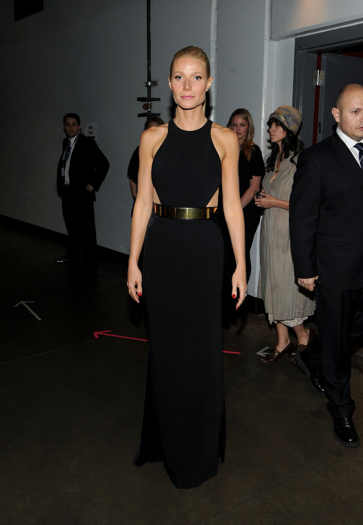 Gwyneth Paltrow wore Stella McCartney at the Grammys.