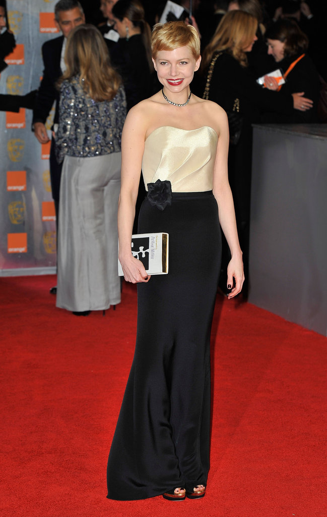 Glamorous Ladies Michelle, Viola, Christina and Kristen Step Out For the BAFTAs