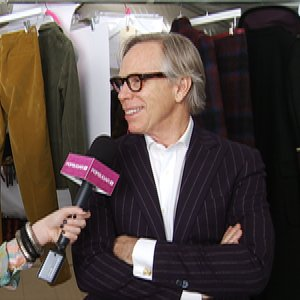 Tommy Hilfiger NYFW Fall 2012 Interview
