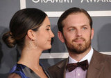 Caleb Followill receives a loving look from wife Lily Aldridge.