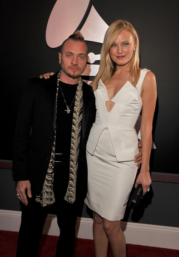 Malin Akerman and Roberto Zincone, 2012