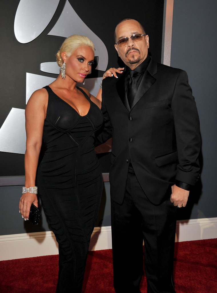 Ice-T and Coco hit the red carpet in all-black ensembles.
