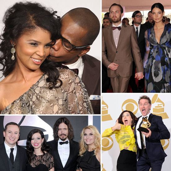 Hot Couples Are in Tune at Grammys