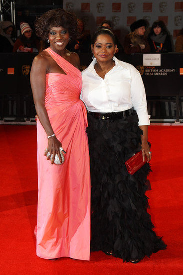 Viola Davis and Octavia Spencer(2012 BAFTA)