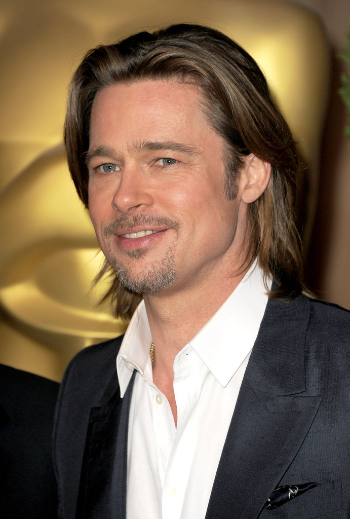Hair Long Hair And Brad Pitt On Pinterest
