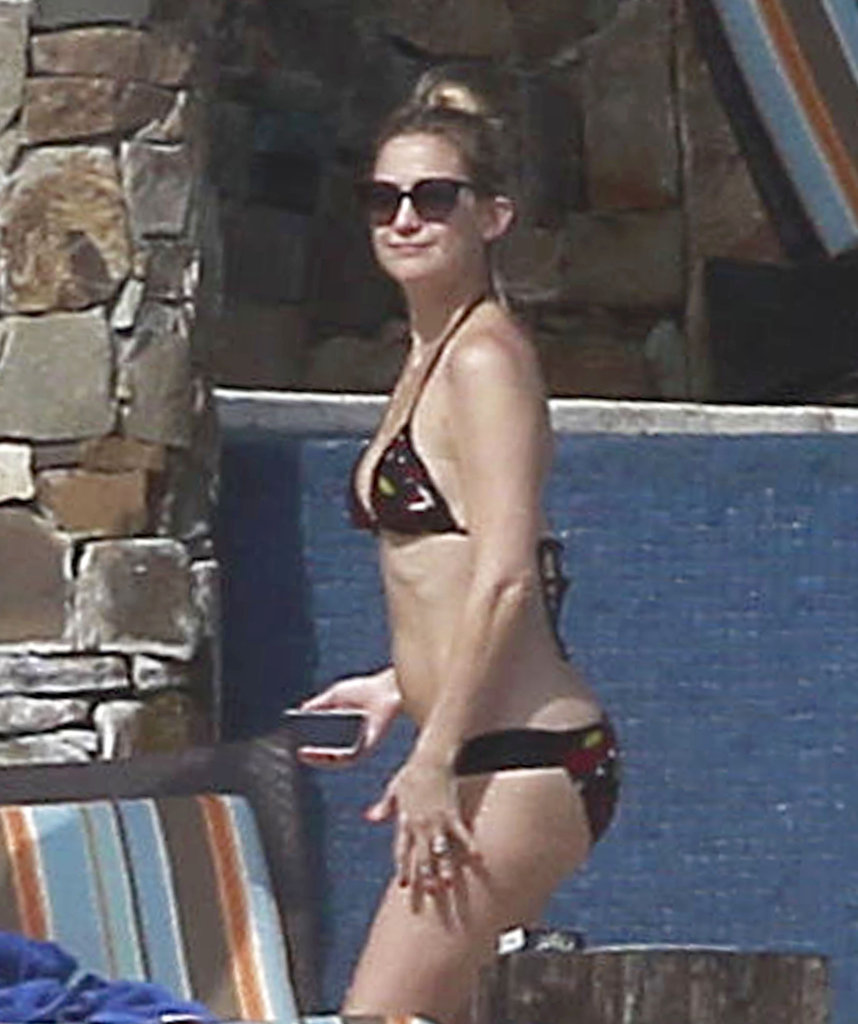 Kate Hudson in a bikini.