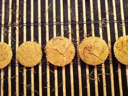 Rosemary Chickpea Muffins