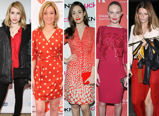 Valentine's Day Prep: 5 Red-Hot Celeb Looks to Mimic