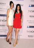 Kendall and Kylie Jenner at The Vow premiere in LA.