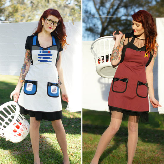 Getting Crafty in Sci-Fi and Superhero Aprons