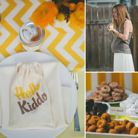 Hello, Kiddo! A Sunny Breakfast Baby Shower