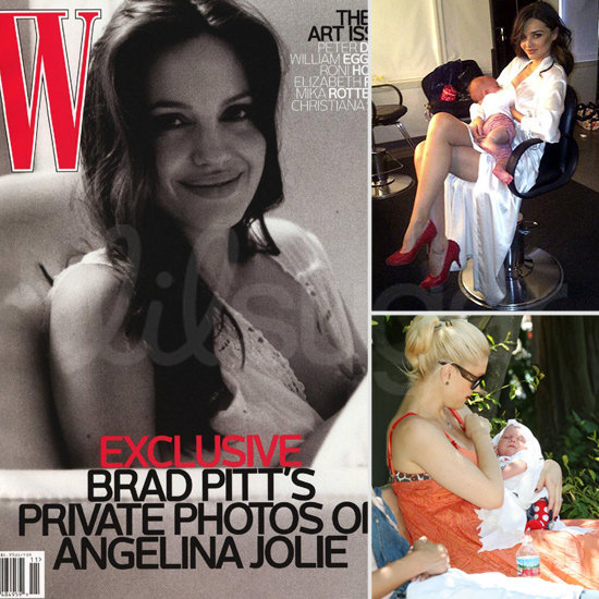 10 Celebrity Moms Who Breastfeed In Public