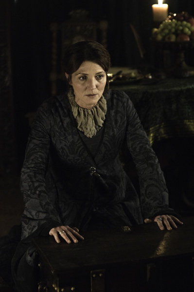 Michelle Fairley as Catelyn Stark on Game of Thrones.  Photo courtesy of HBO