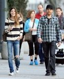 Michael C. Hall and Jennifer Carpenter together in LA.