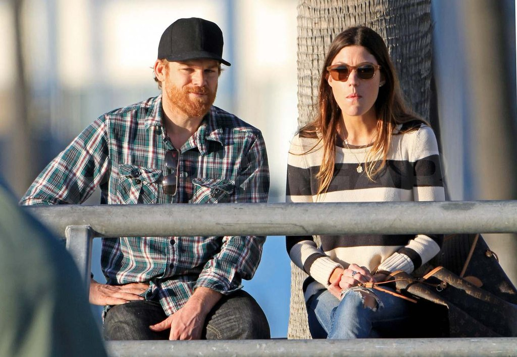 Michael C. Hall and Jennifer Carpenter Cozy Up For a Sweet Sunset Beach Trip