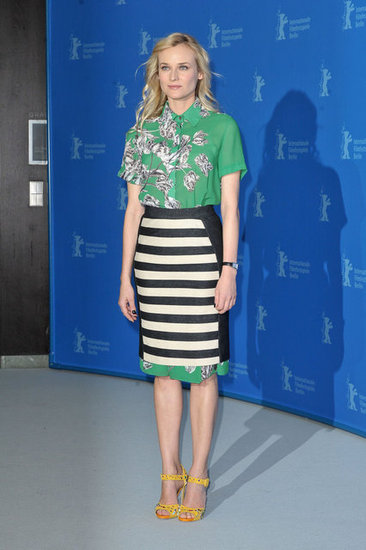 Diane Kruger wore 10 Crosby by Derek Lam to the Berlin Film Festival Festival.
