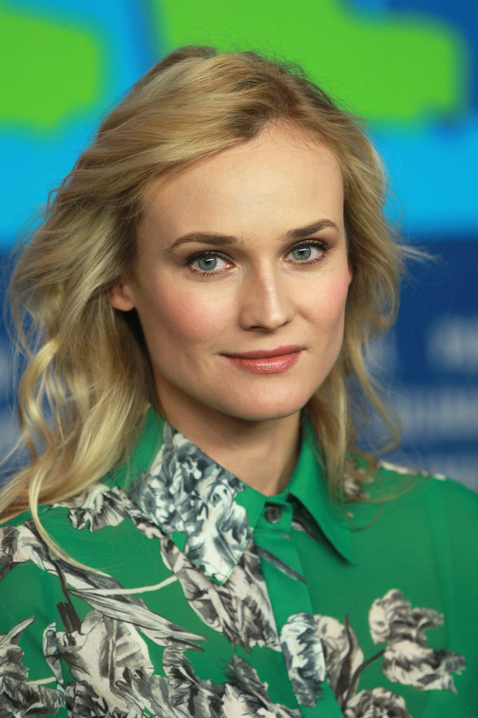 Diane Kruger did press in Berlin.