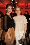 Maria Menounos and Kelly Rutherford at NY Fashion Week.  Photo courtesy of worldredeye.com