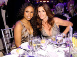 Jennifer Hudson and Cindy Crawford
