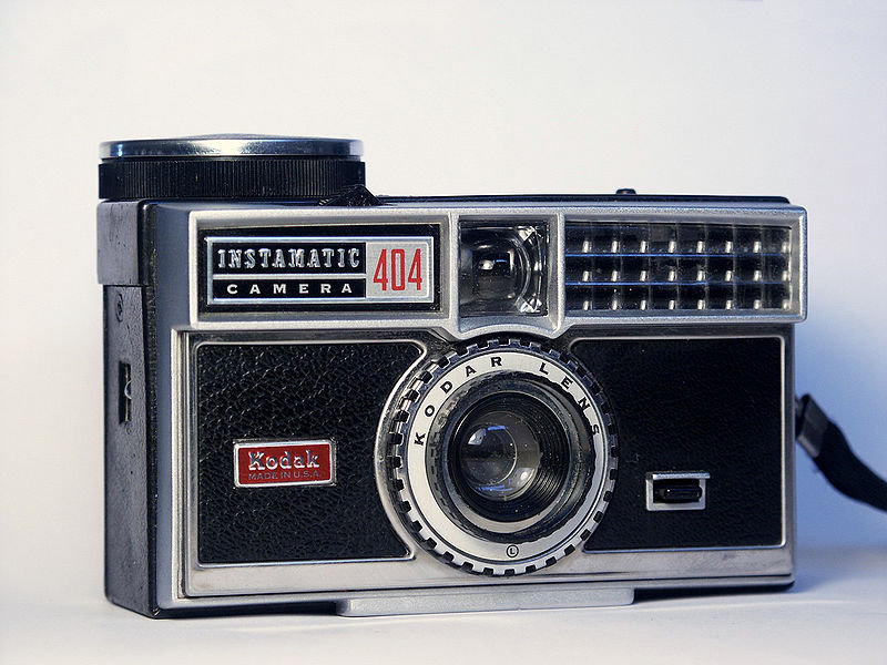 Instamatic 404 Source: Wikipedia