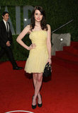 Emma wore a sunny Christian Dior strapless for the Vanity Fair Oscars party in 2009.